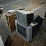 TV for junk disposal